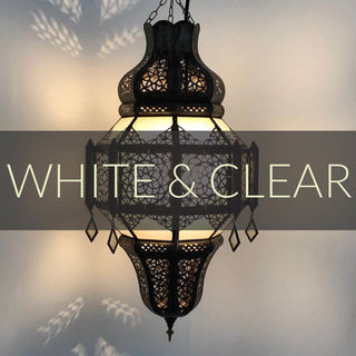White & Clear Lanterns