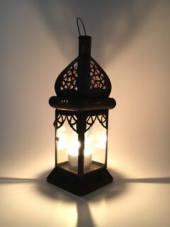 Sari Candle Lamp Clear