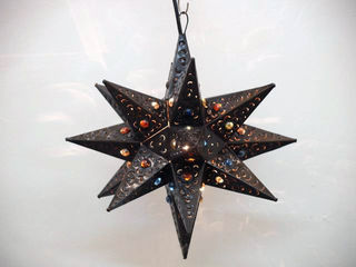 Tin Star large - bronze