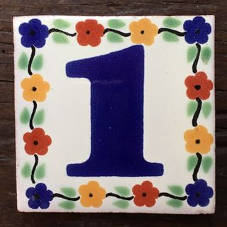 Talavera Tile: one