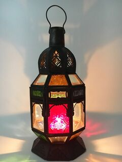 Moroccan Lamp: mixed colour