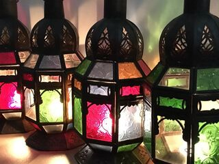 Moroccan Lamp; full colour