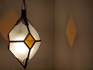 Rombo lantern: yellow