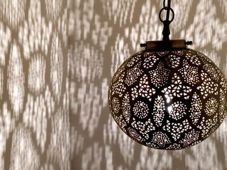 Sultans Ball Lantern: Brass