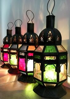 Moroccan Lamp: green