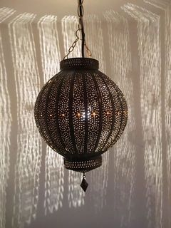 Andalusian Lantern: small brown