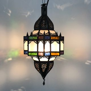 Mkanta Lantern: Colour & White