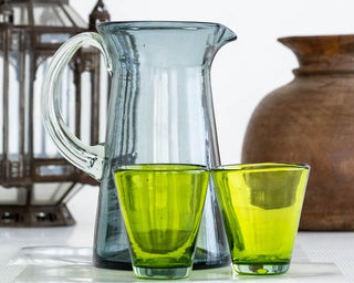 Tropical Green Glass