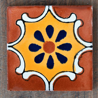 Arabesque Tile Brown