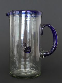 Azul Button Jug
