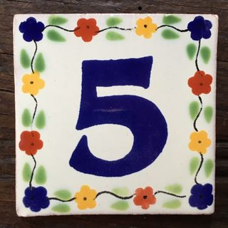 Talavera Tile: five