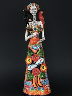 Tall Talavera Frida