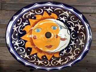 Eclipse Talavera Handbasin: medium