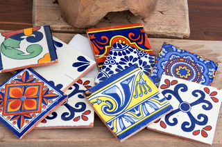 2nds Talavera Tiles Mixed Pack Of 10 Furniture