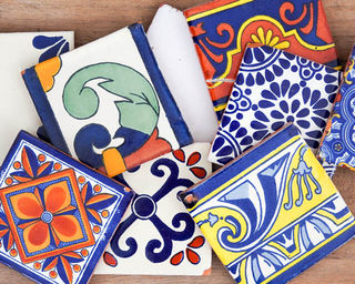 2nds Talavera Tiles: Mixed Pack of 10