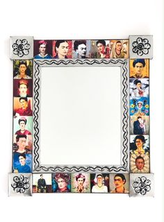 Frida Tin Mirror Large