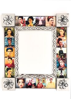 Frida Tin Mirror Small