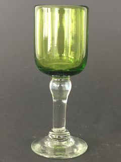 Tall Verde Shot Glass