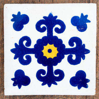 Azul Cruz Tile