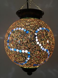 Mirrored Mosaic Lantern