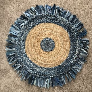Chindi Rug: denim