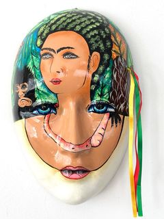 Frida Wall Mask 1