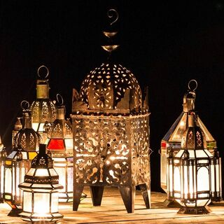 Traditional Moroccan Lamp Large