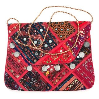 Red Vintage Banjara Bag 16