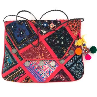 Red Vintage Banjara Bag 18