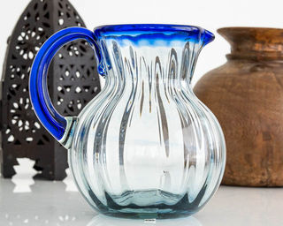 Azul Striped Jug
