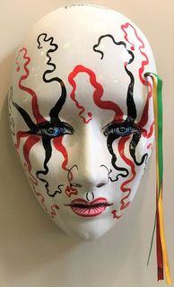 Mexican Wall Mask Jester