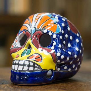Talavera Skull Medium