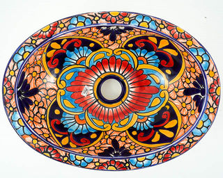 Small Talavera Hand Basin 1