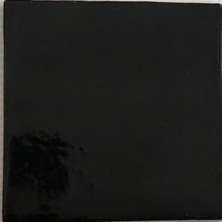 Solid Black Tile
