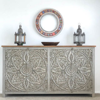 Mandala Sideboard Large Grey