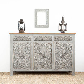 Mandala Sideboard Grey