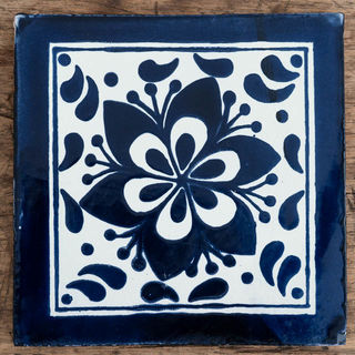 Large Flor Jardin Tile