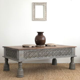 Indore Coffee Table with Drawers