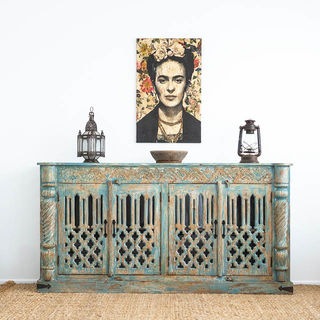 Blue Adhira Sideboard Large