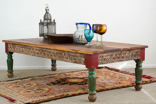 Long Bengali Coffee Table BACK ORDER