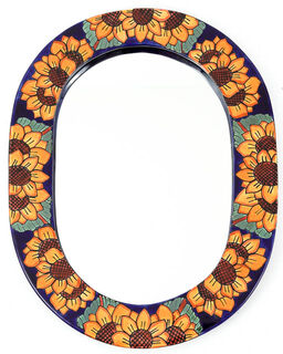 Talavera Mirror Sunflower