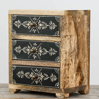 Black & White Spice Drawers