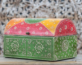 Green Treasure Box Large