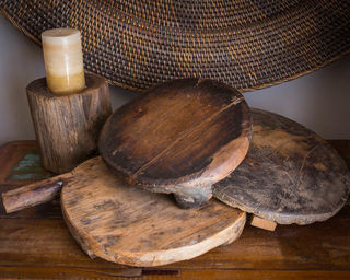 Chapati Board  Vintage Natural