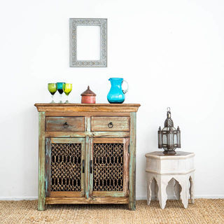 Jali Sideboard with Drawers A
