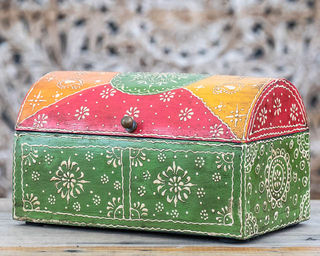 Green Treasure Box Medium