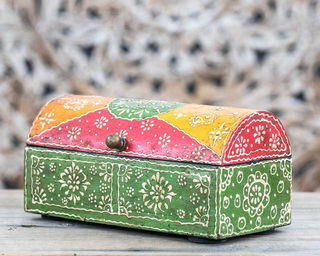 Green Treasure Box Small
