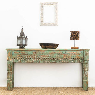 Traditional Green Console