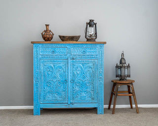 Bohemian Sideboard Medium Blue