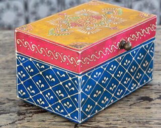 Gypsy Jewellery Box Blue